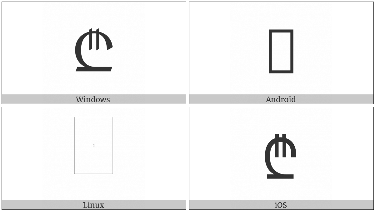 Lari Sign on various operating systems
