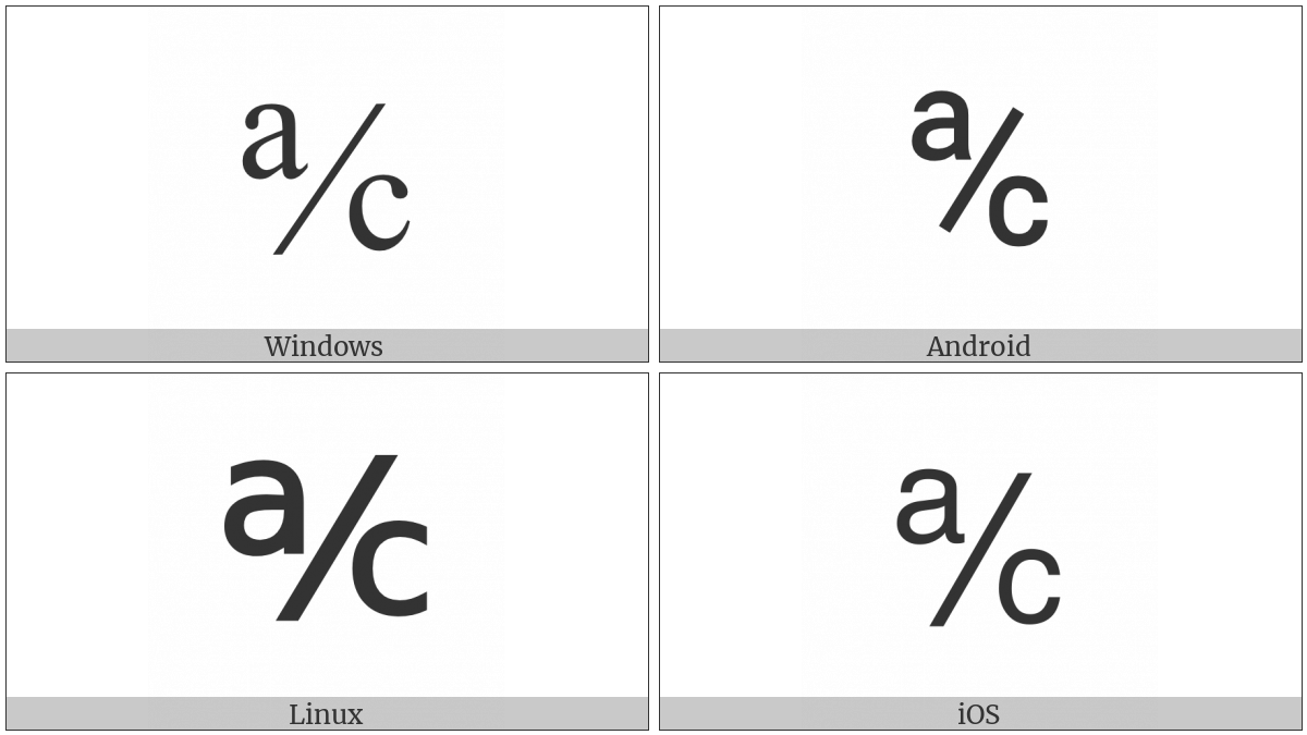 Account Of on various operating systems