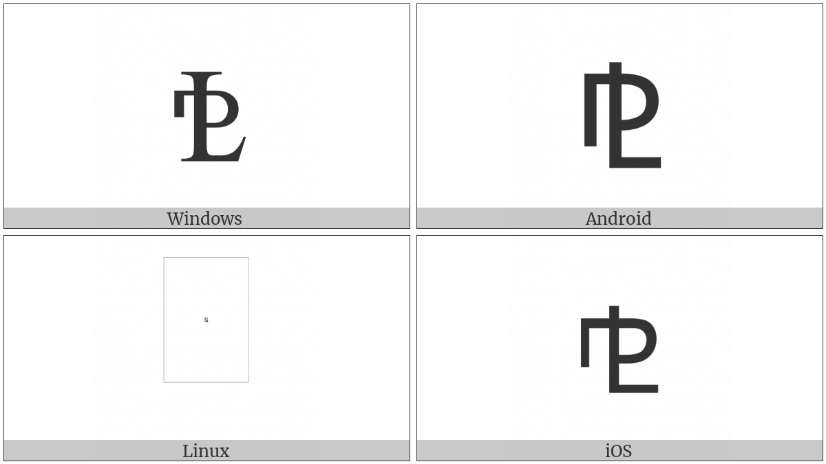 Property Line on various operating systems