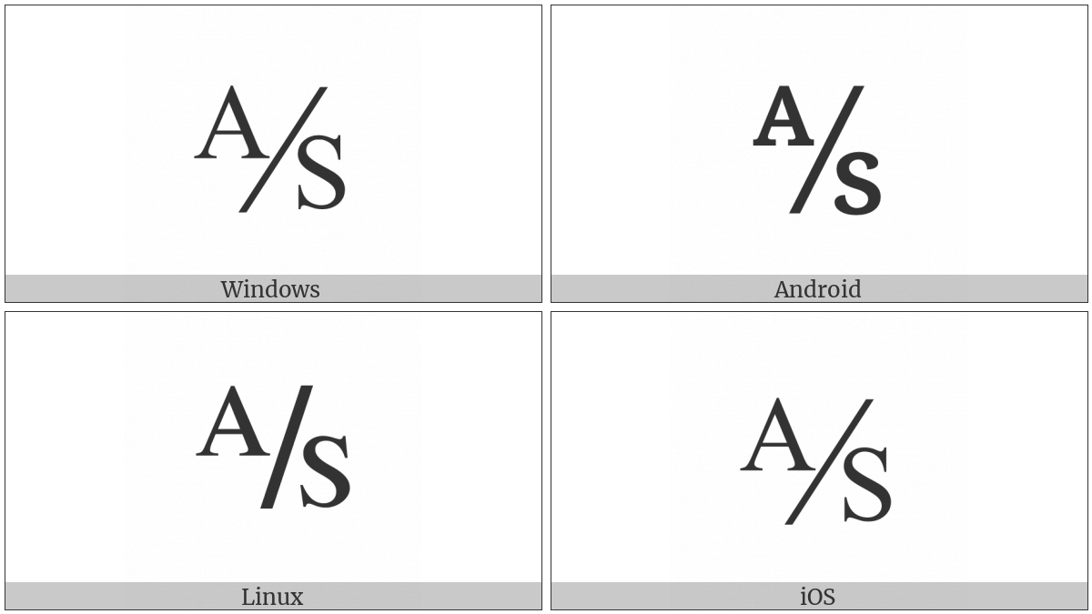 Aktieselskab on various operating systems