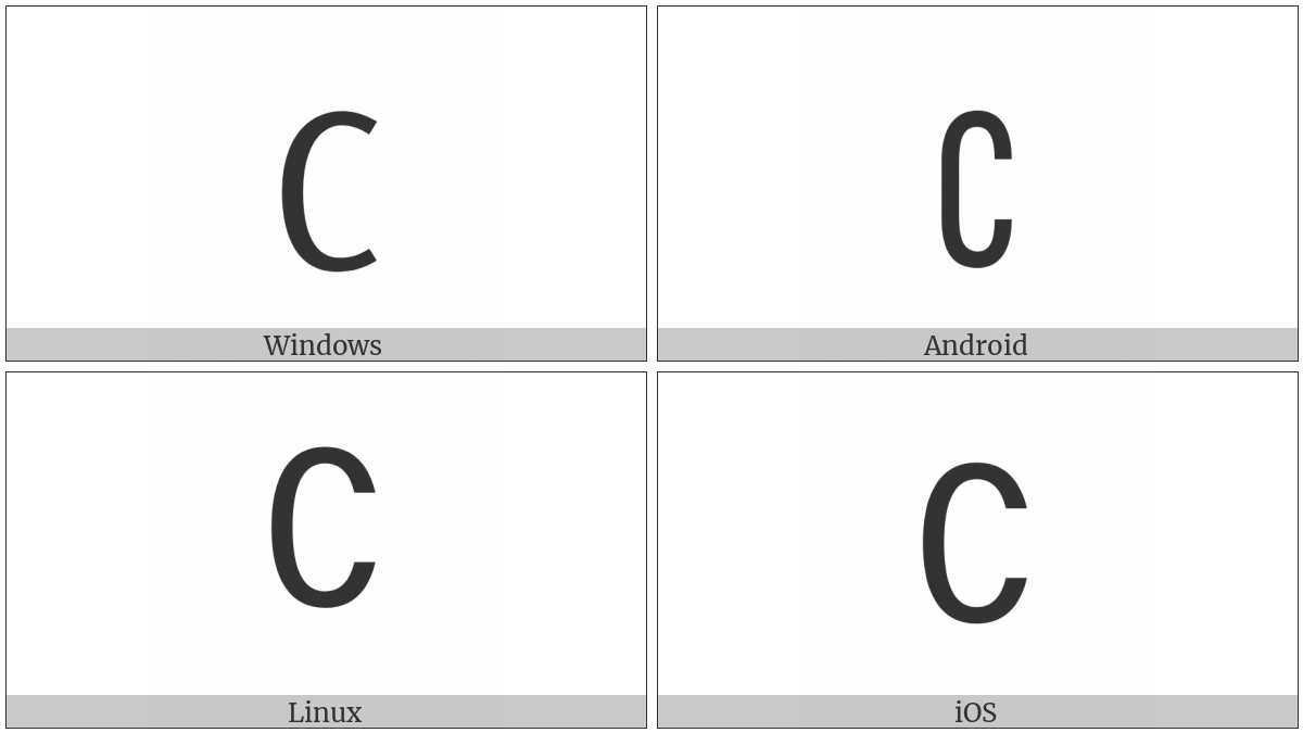 Complement on various operating systems