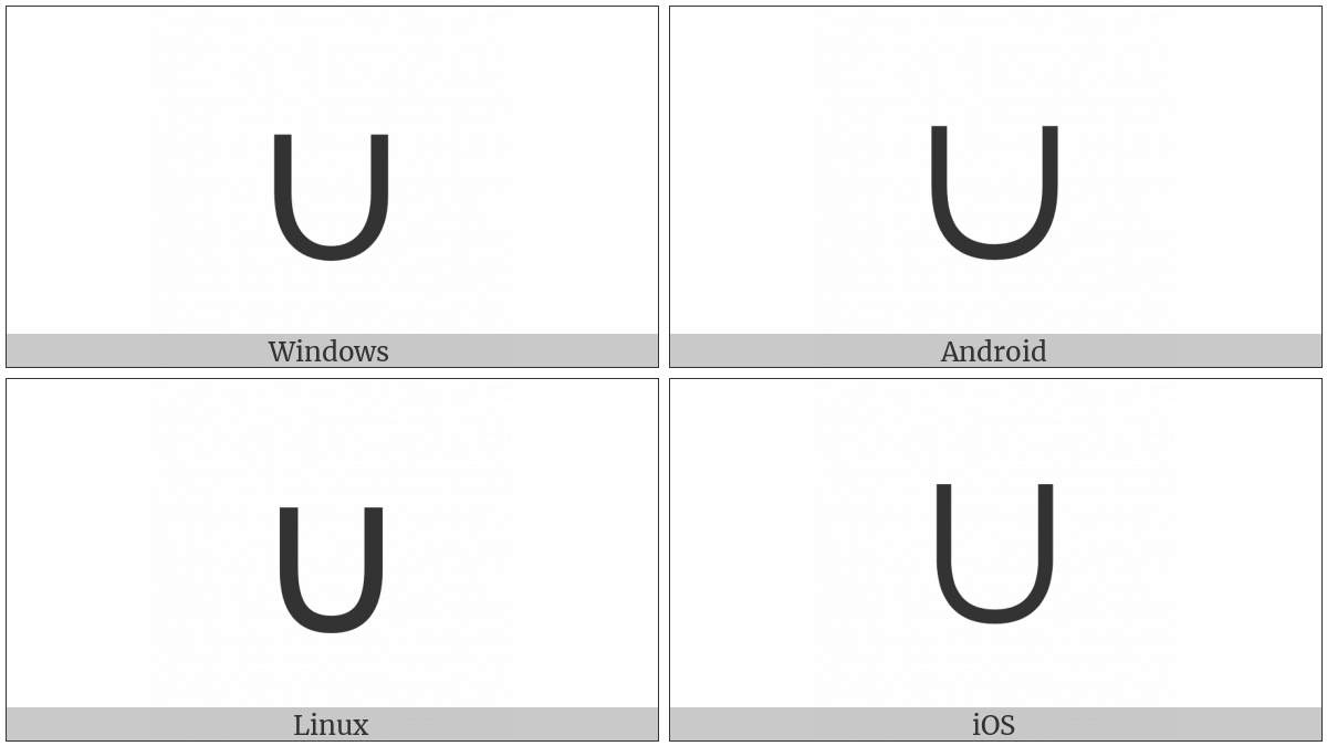 Union on various operating systems
