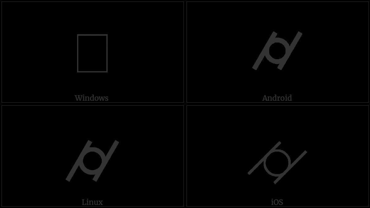 Cylindricity Utf 8 Icons