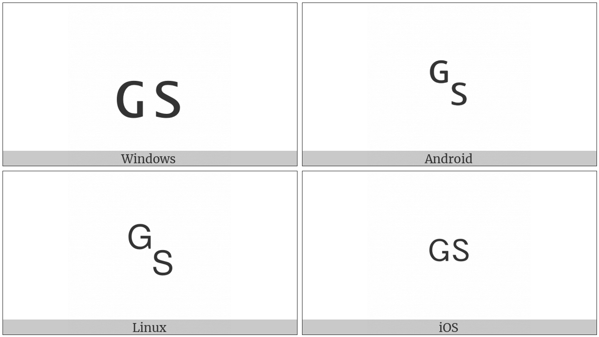 Symbol For Group Separator Utf 8 Icons