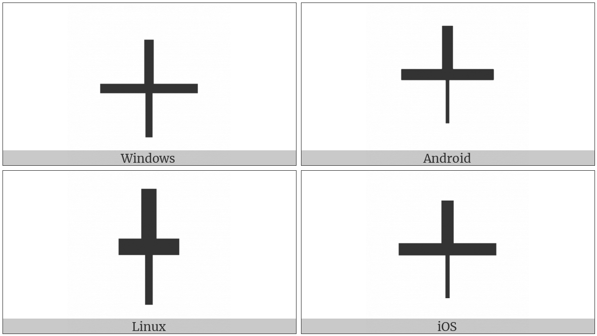 Box Drawings Down Light And Up Horizontal Heavy on various operating systems
