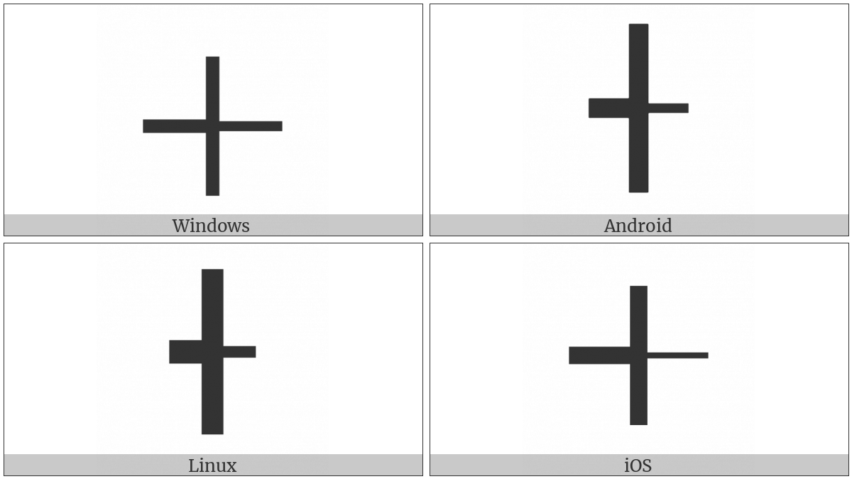 Box Drawings Right Light And Left Vertical Heavy on various operating systems