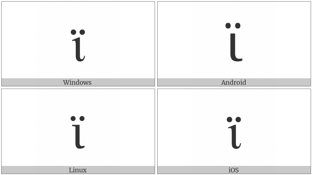 Greek Small Letter Iota With Dialytika Utf 8 Icons