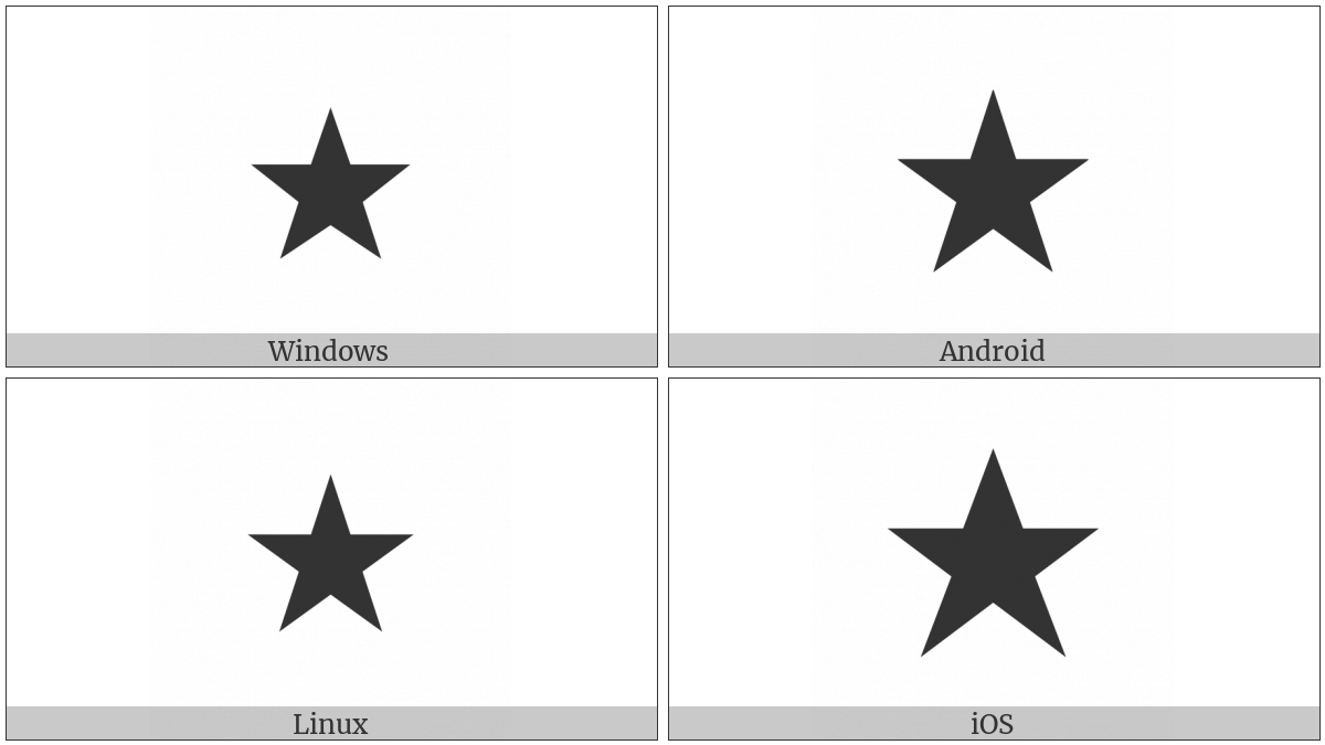 Black Star on various operating systems