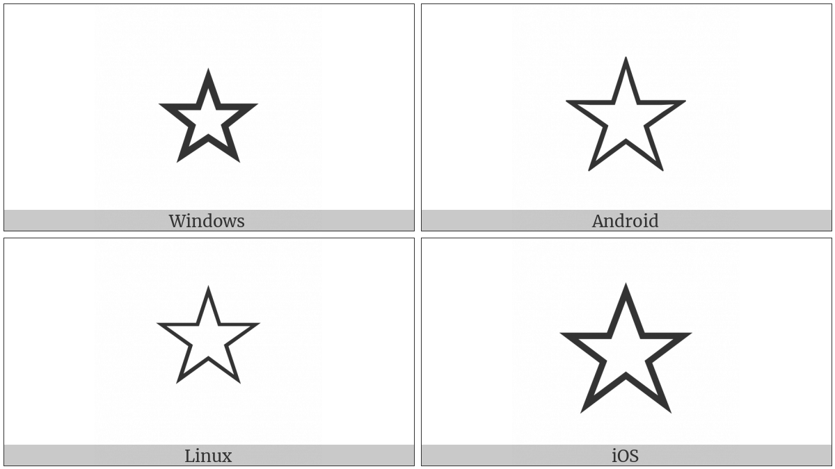 White Star on various operating systems