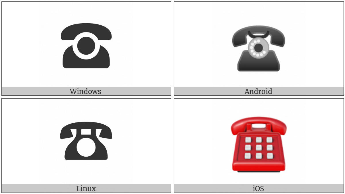 Black Telephone on various operating systems