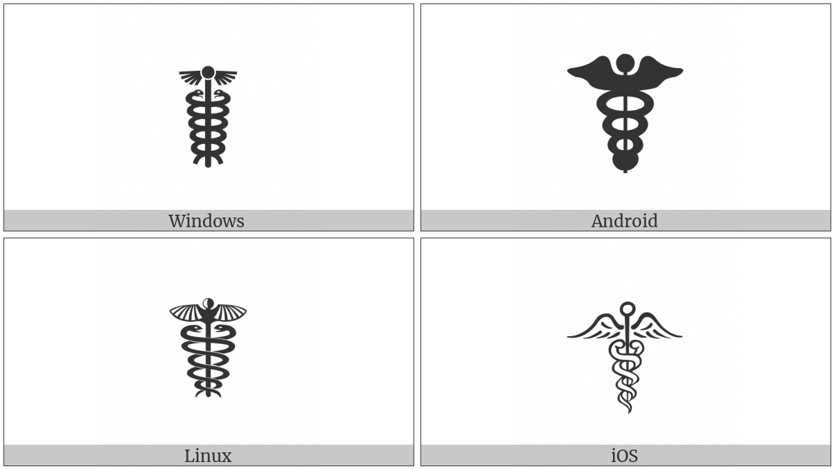 Caduceus on various operating systems