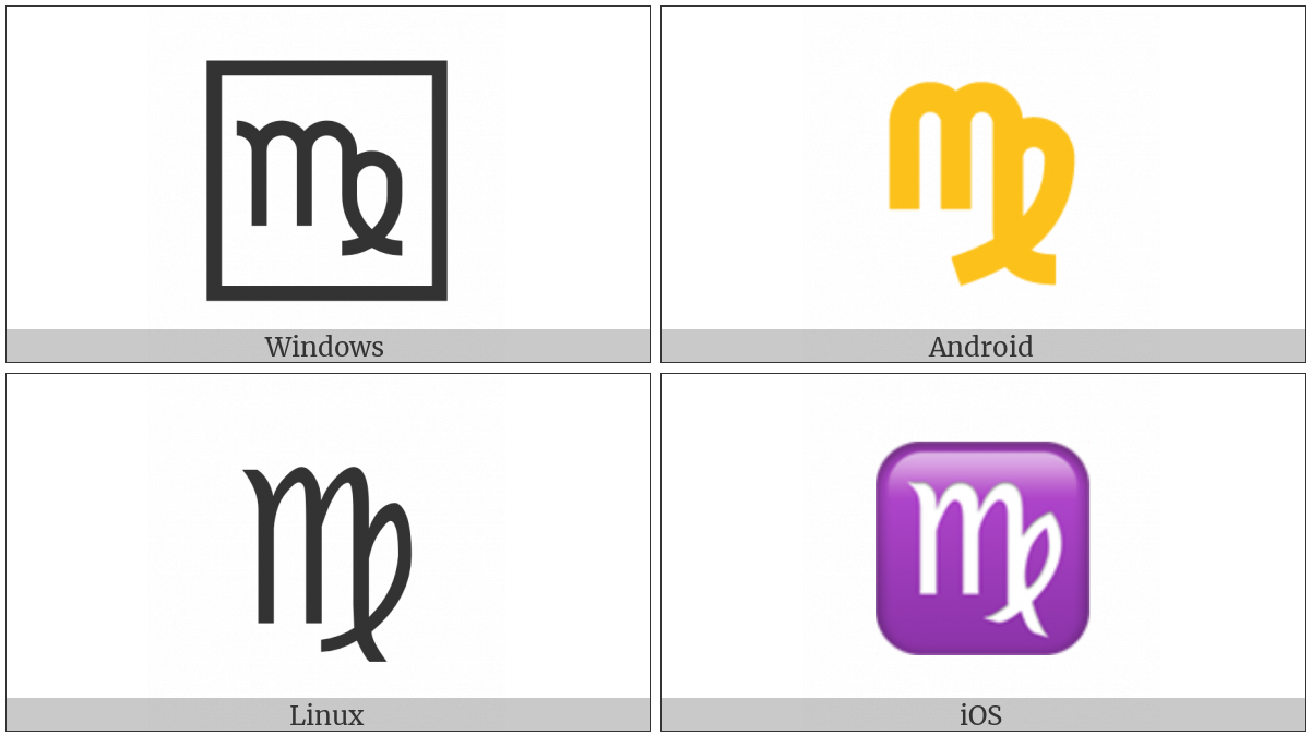 Virgo on various operating systems