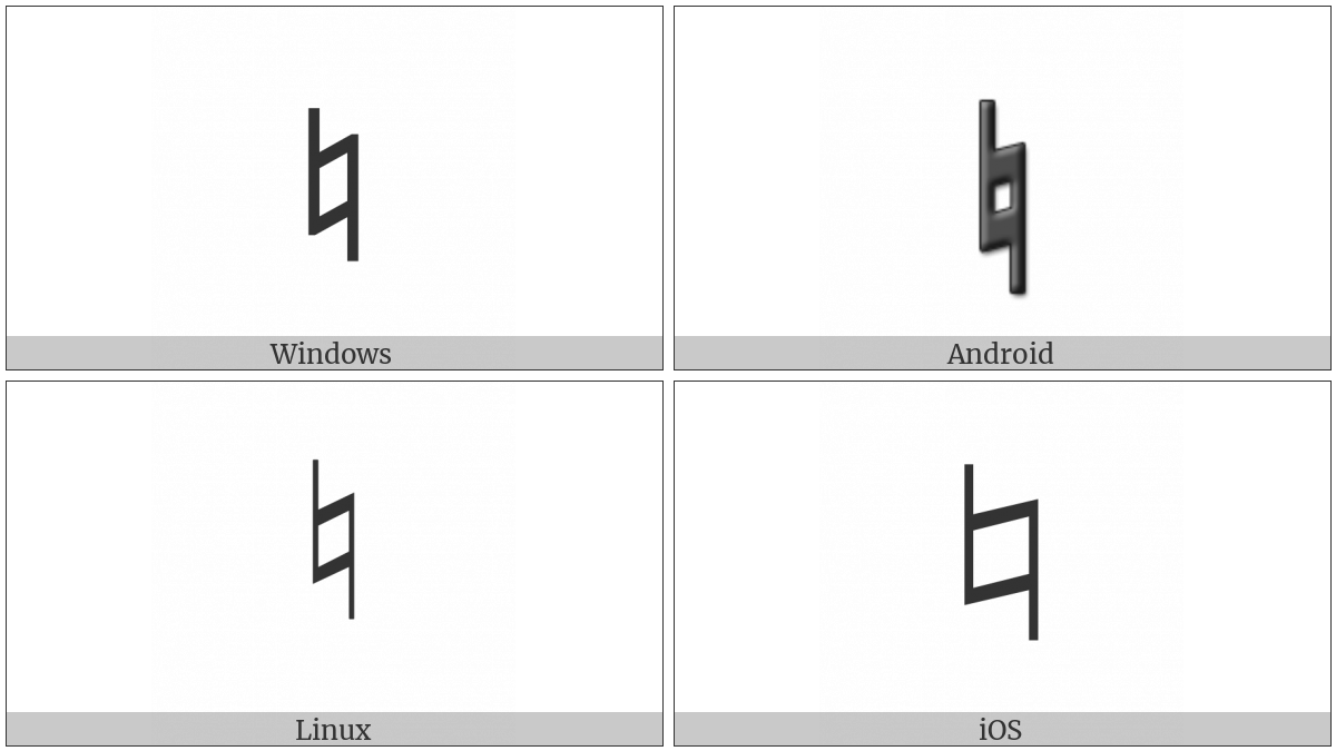 Music Natural Sign Utf 8 Icons