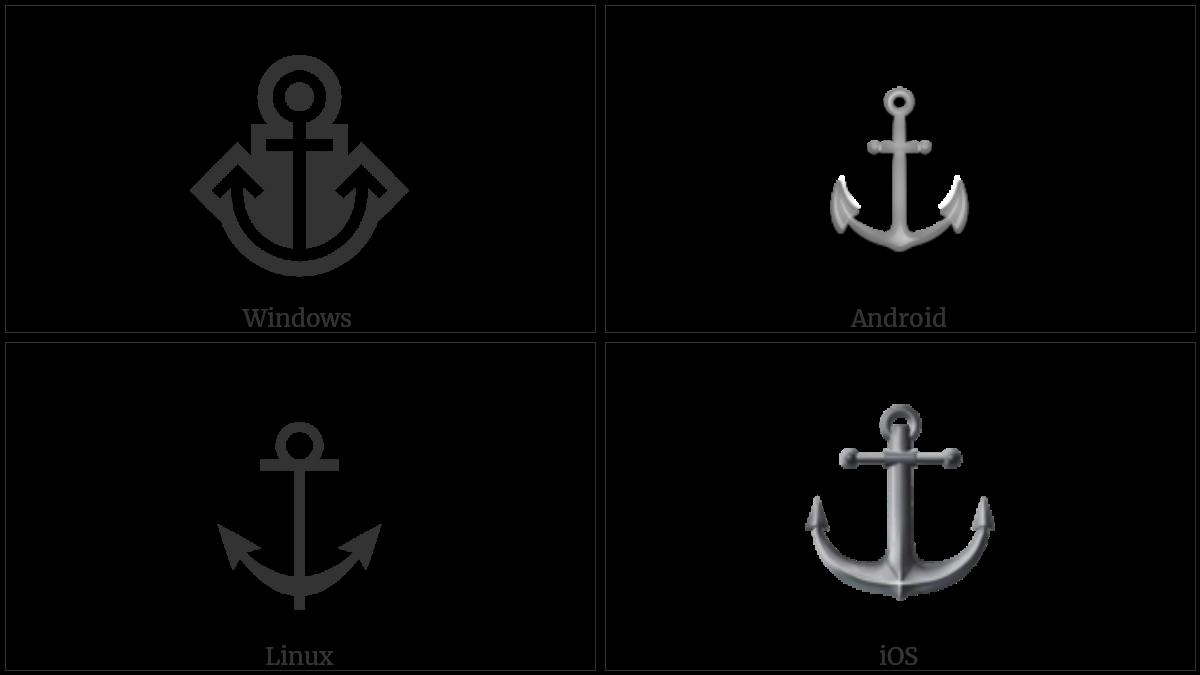 ANCHOR utf-8 character
