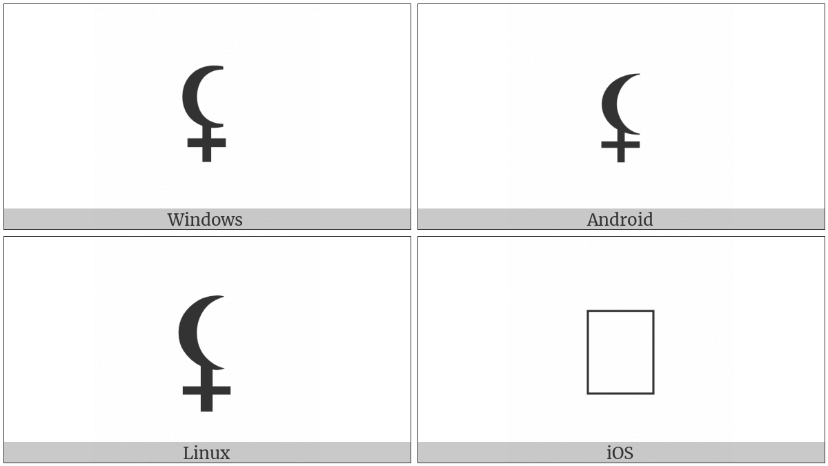 BLACK MOON LILITH | UTF-8 Icons