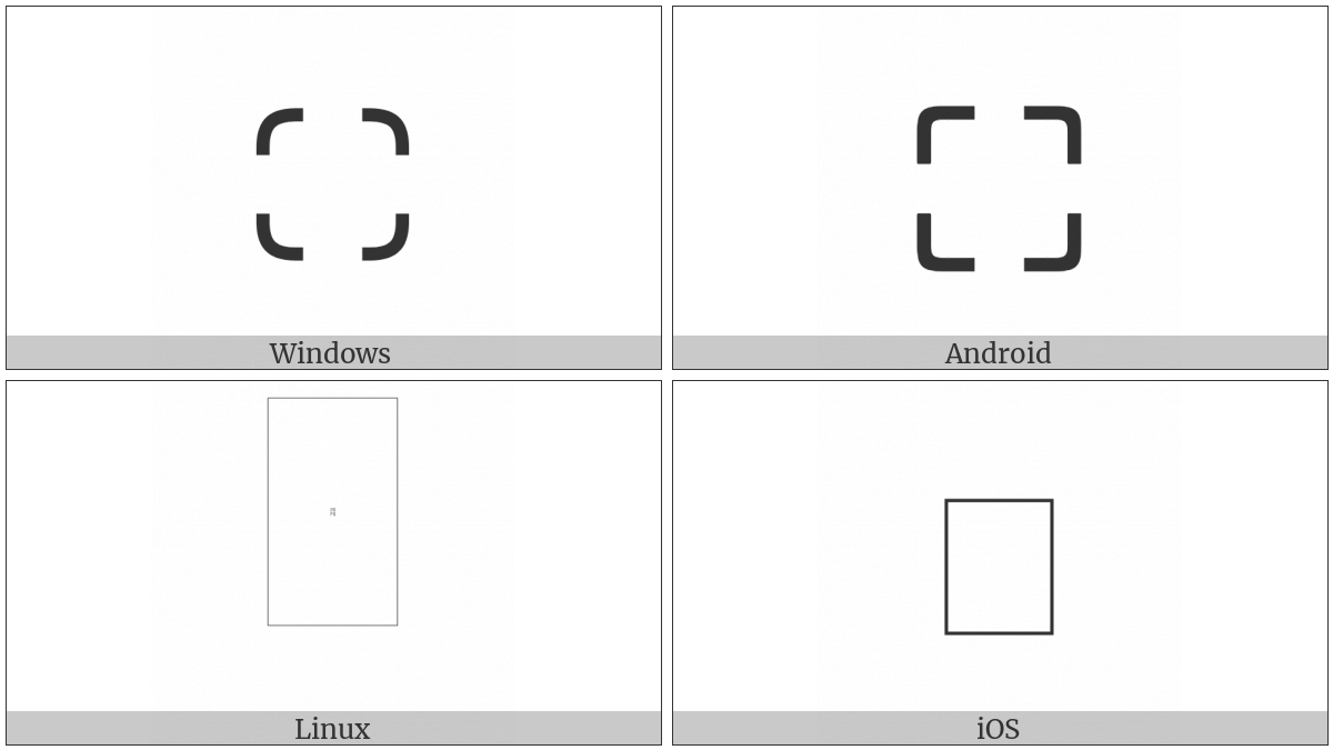 Square Four Corners on various operating systems