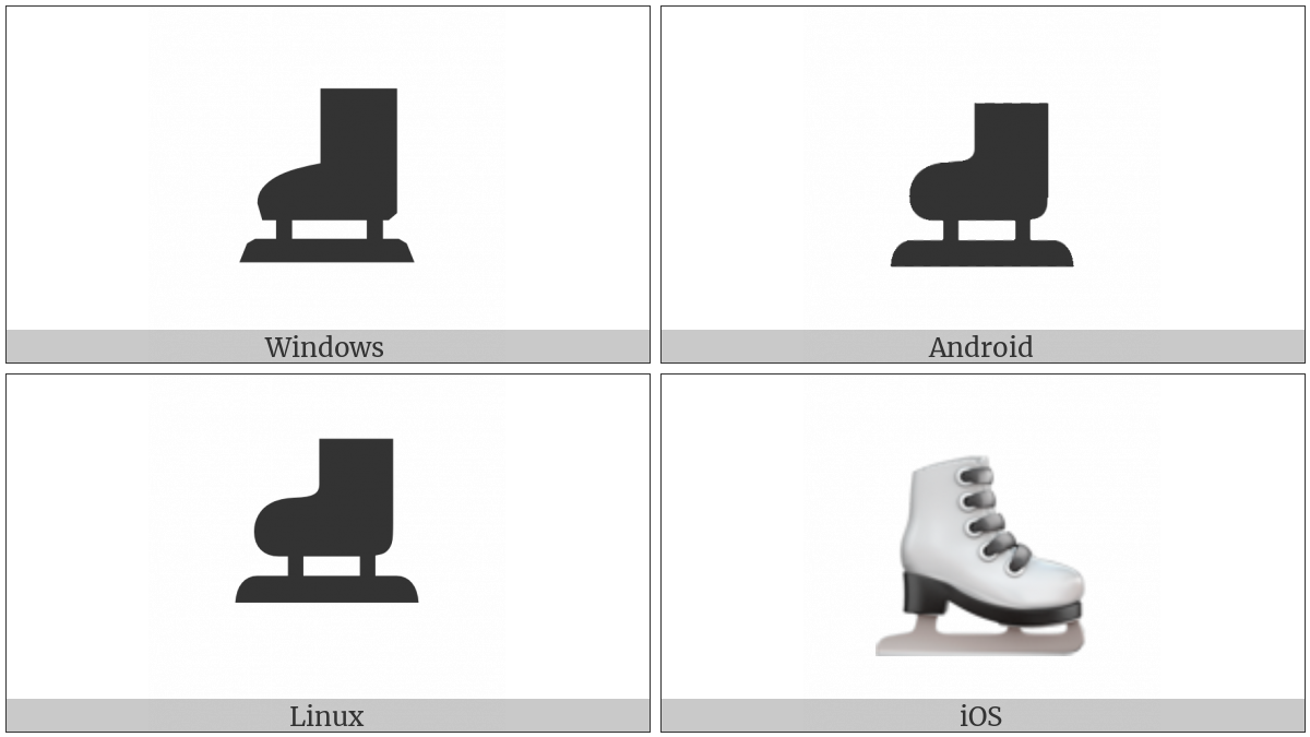 Ice Skate on various operating systems
